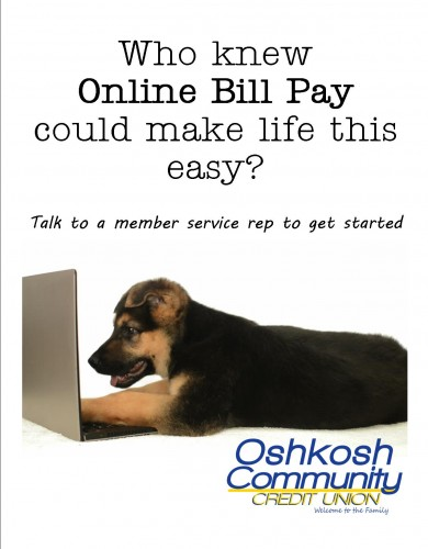 Online Bill Pay could make life easy!
